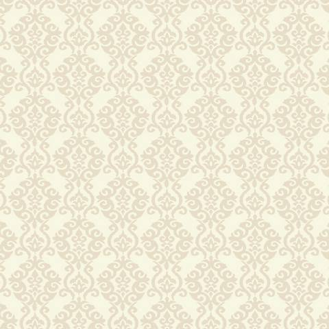York Sure Strip Sand Waverly Luminary Removable Wallpaper