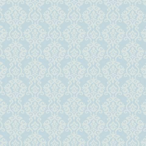 York Sure Strip Light Blue Waverly Luminary Wallpaper