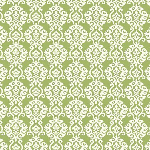 York Sure Strip Green Waverly Luminary Removable Wallpaper