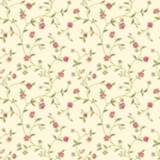 York Sure Strip Dark Pink Waverly Bellisima Vine Wallpaper