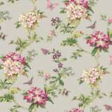 York Sure Strip Pink Waverly Fawn Hill Removable Wallpaper