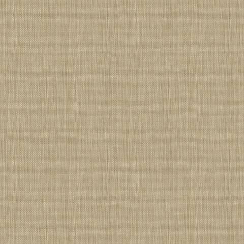 York Sure Strip Straw Waverly Sweet Grass Wallpaper