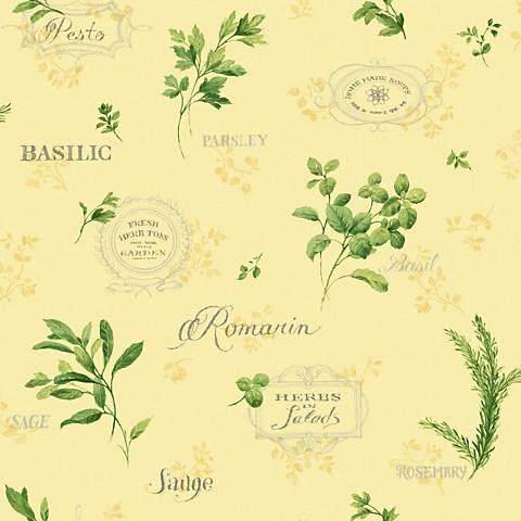 York Sure Strip Yellow Aromatique Removable Wallpaper
