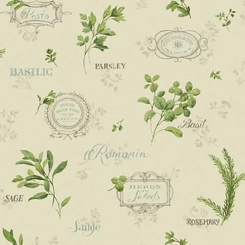 York Sure Strip Beige Aromatique Removable Wallpaper