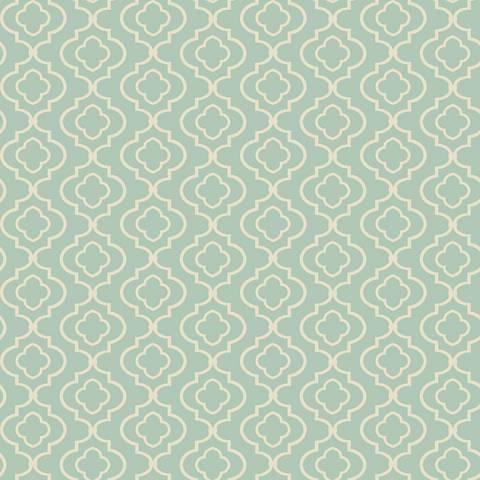 York Sure Strip Sky Blue Small Trellis Removable Wallpaper