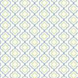 York Sure Strip Blue and Green Small Trellis Wallpaper