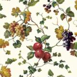 York Sure Strip White Fruit and Ivy Removable Wallpaper