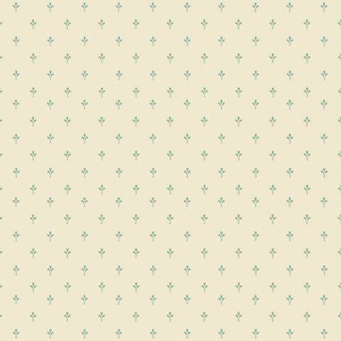 York Sure Strip Robin's Egg Blue Ditsy Removable Wallpaper
