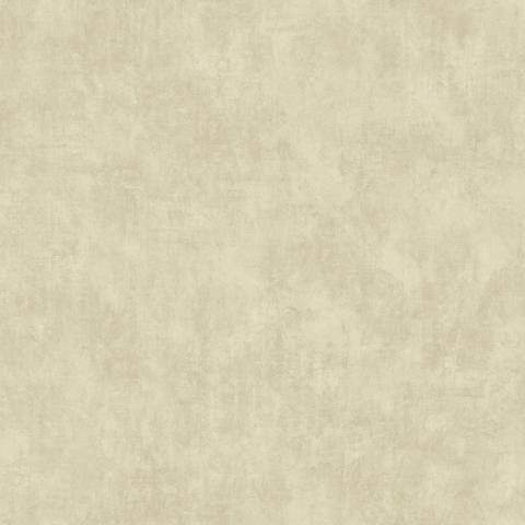 York Sure Strip Tan Vintage Scroll Texture Wallpaper