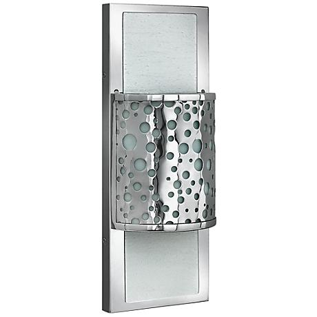 "Mira Fizz 16 1/4"" High Polished Chrome Wall Sconce"
