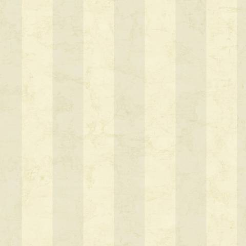York Sure Strip Ivory Wide Stripe Removable Wallpaper