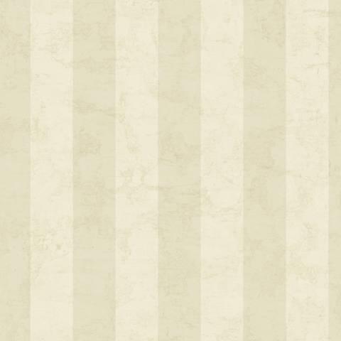 York Sure Strip Beige Wide Stripe Removable Wallpaper