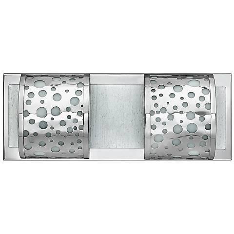"Mira Fizz 16 1/4"" Wide Polished Chrome Bathroom Light"
