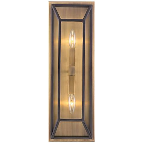 "Hinkley Fulton 22 1/2"" High Bronze Wall Sconce"
