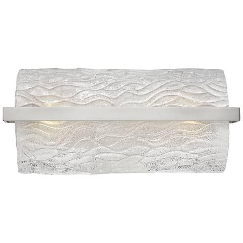 """Hinkley Chloe 17"""" Wide Brushed Nickel Bath Light"""