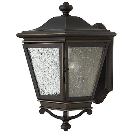 """Lincoln 13 3/4"""" High Oil Rubbed Bronze Outdoor Wall Light"""