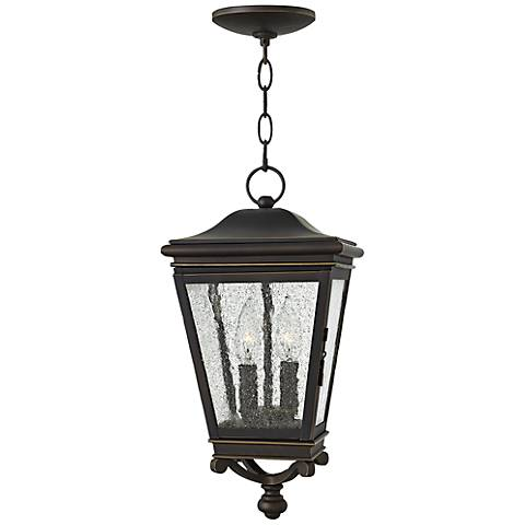 "Hinkley Lincoln 8 1/2"" Wide Bronze Outdoor Hanging Light"