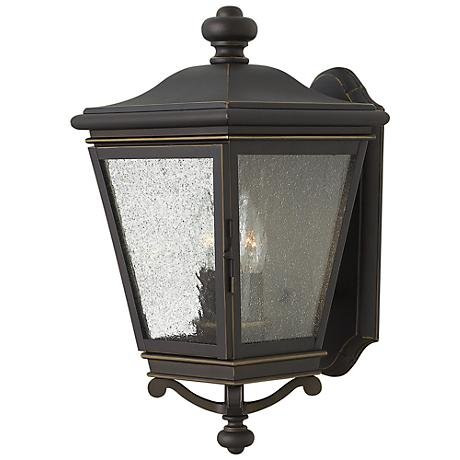 """Lincoln 16 3/4"""" High Oil Rubbed Bronze Outdoor Wall Light"""