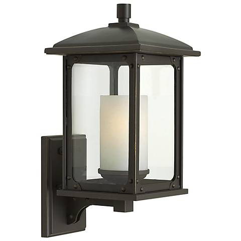 "Stanton 15 1/2"" High Oil Rubbed Bronze Outdoor Wall Light"