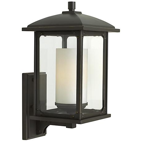 """Stanton 18 1/4"""" High Oil Rubbed Bronze Outdoor Wall Light"""