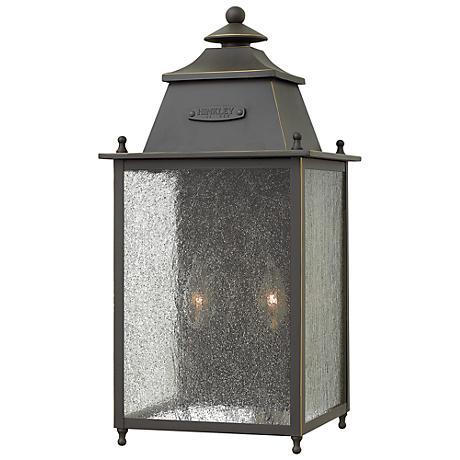 "Hinkley Chatfield 14 1/4"" High Bronze Outdoor Wall Light"