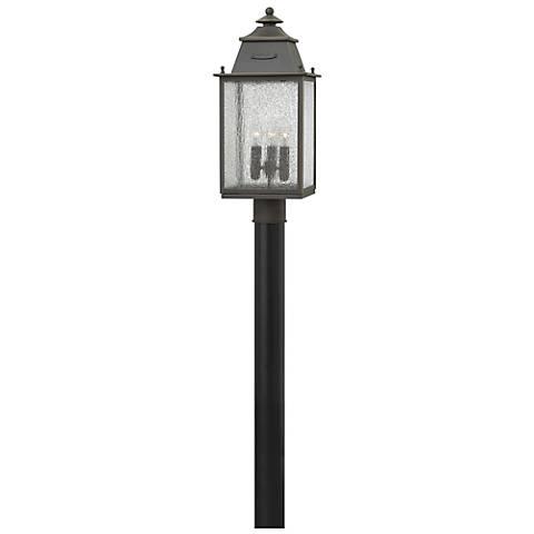"Hinkley Chatfield 20 3/4"" High Bronze Outdoor Post Light"