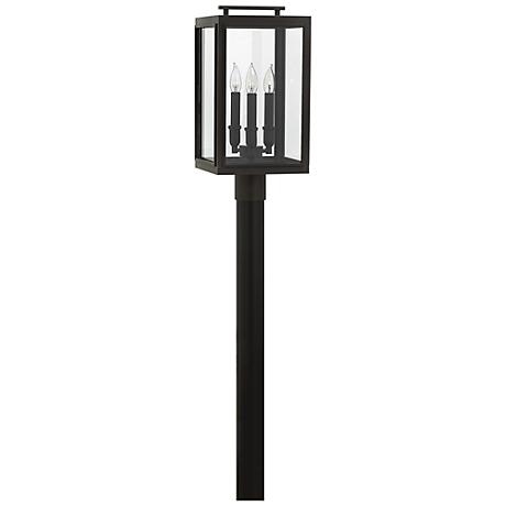 """Sutcliffe 20"""" High Oil Rubbed Bronze Outdoor Post Light"""