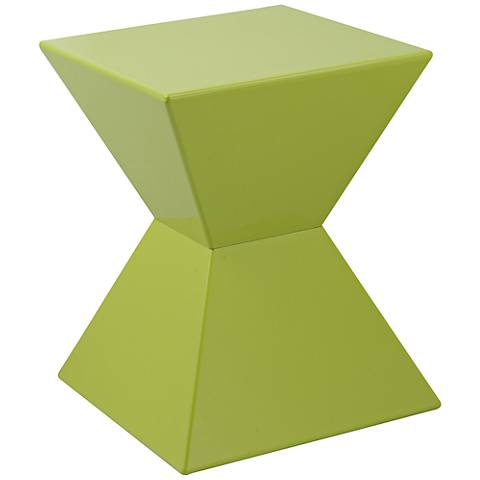 Rocco Modern Green End Table