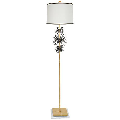 Van Teal Bang Gold Leaf Floor Lamp