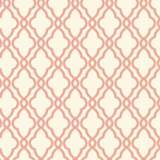 York Sure Strip Coral Waverly Hampton Trellis Wallpaper