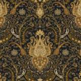 York Sure Strip Black Waverly Byzance Removable Wallpaper