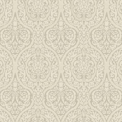 York Sure Strip Gray Waverly Bright Idea Wallpaper