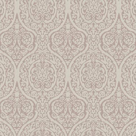 York Sure Strip Lilac Waverly Bright Idea Wallpaper
