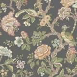 York Sure Strip Gray Waverly Casa Blanca Rose Wallpaper