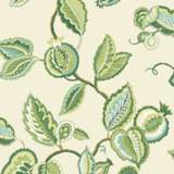 York Sure Strip Kiwi Waverly Fantasy Fleur Wallpaper