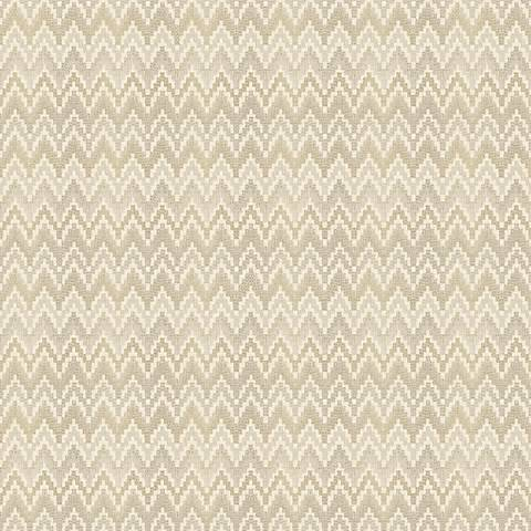 York Sure Strip Gray Waverly Heartbeat Removable Wallpaper