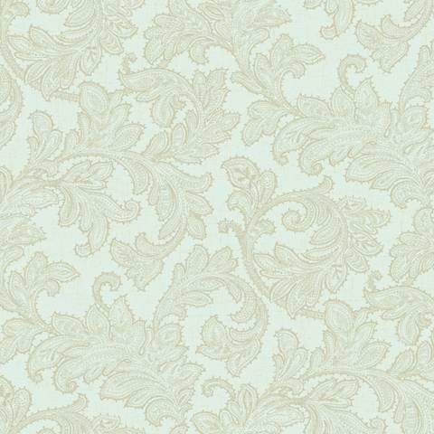 York Sure Strip Sea Foam Waverly Merletto Wallpaper