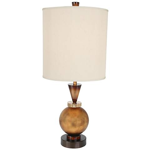 Van Teal Autumn Gold Table Lamp