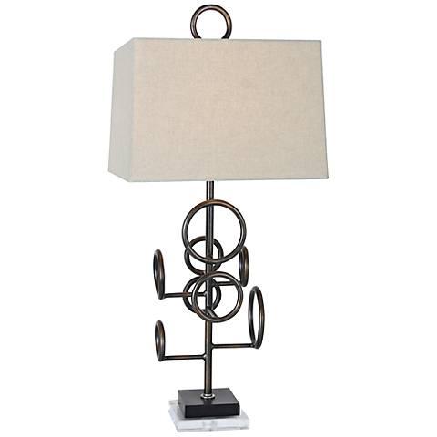 Van Teal Team Ink Well Modern Table Lamp