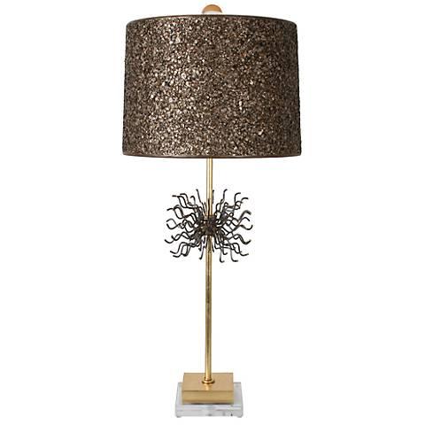Van Teal Little Outburst Gold Leaf Table Lamp