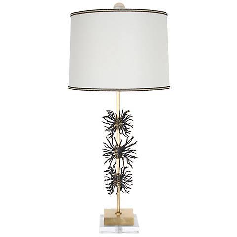 Van Teal Outburst Gold Leaf Table Lamp
