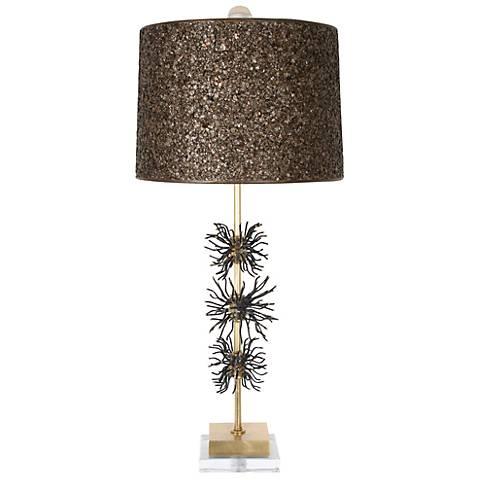 Van Teal Outburst Too Gold Leaf Table Lamp