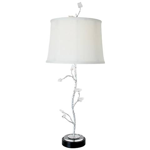 Van Teal Chill Modern Silver Leaf Table Lamp