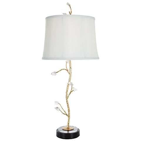 Van Teal Chilly Modern Gold Leaf Table Lamp