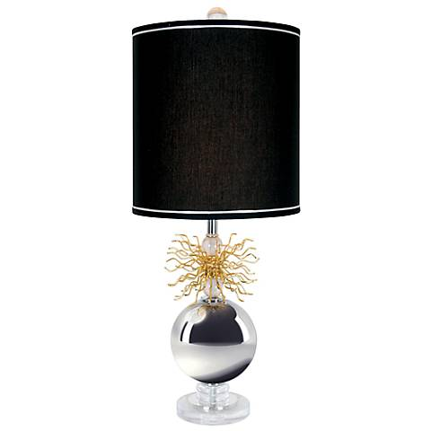 Van Teal Flare-Up Too Polished Chrome Table Lamp
