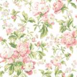 York Sure Strip Pink Waverly Forever Yours Wallpaper