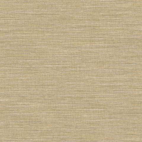 York Sure Strip Taupe Waverly Glitz Removable Wallpaper