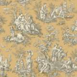 York Sure Strip Caramel Waverly Country Life Wallpaper