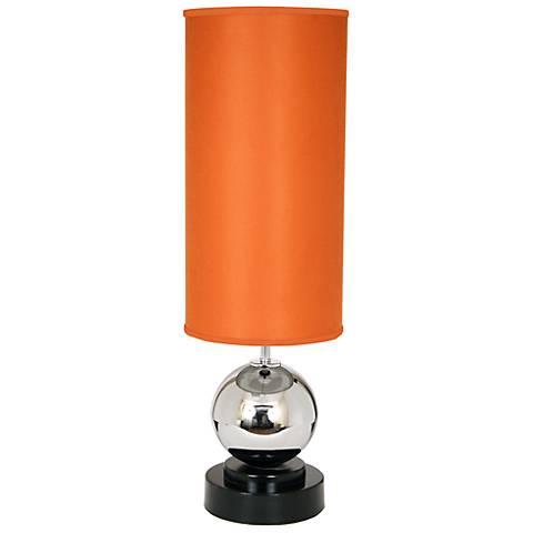 Van Teal Run Away Carrot Velvet Table Lamp