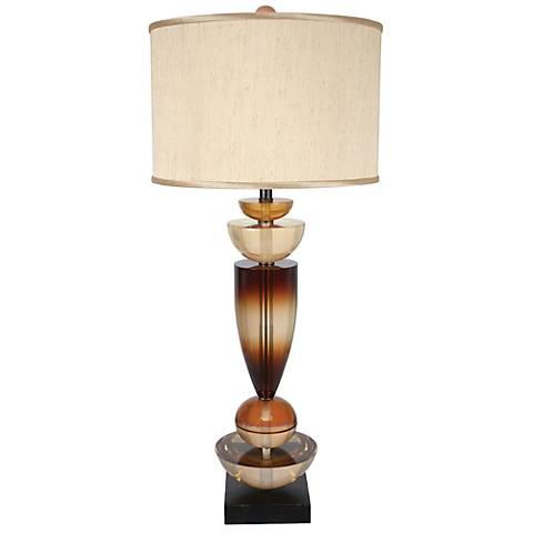 Van Teal Walk On By Burnt Ochre Table Lamp